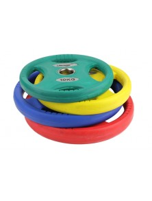 DISQUES COULEUR OLYMPIQUES URETHANE
