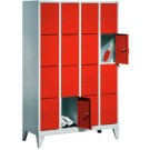 ARMOIRE METAL 16 CASIERS